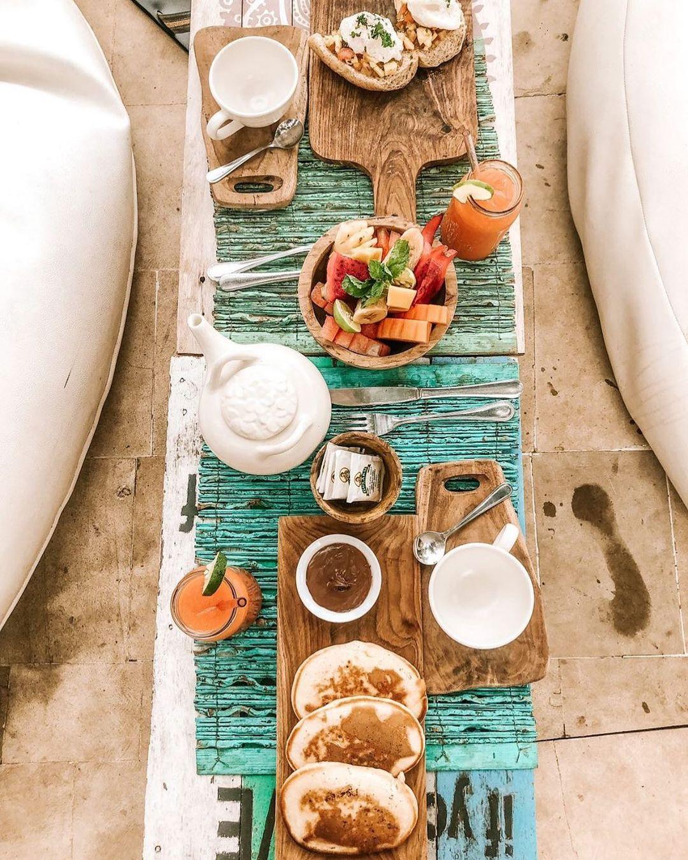 El desayuno / Foto: @lecabanebali
