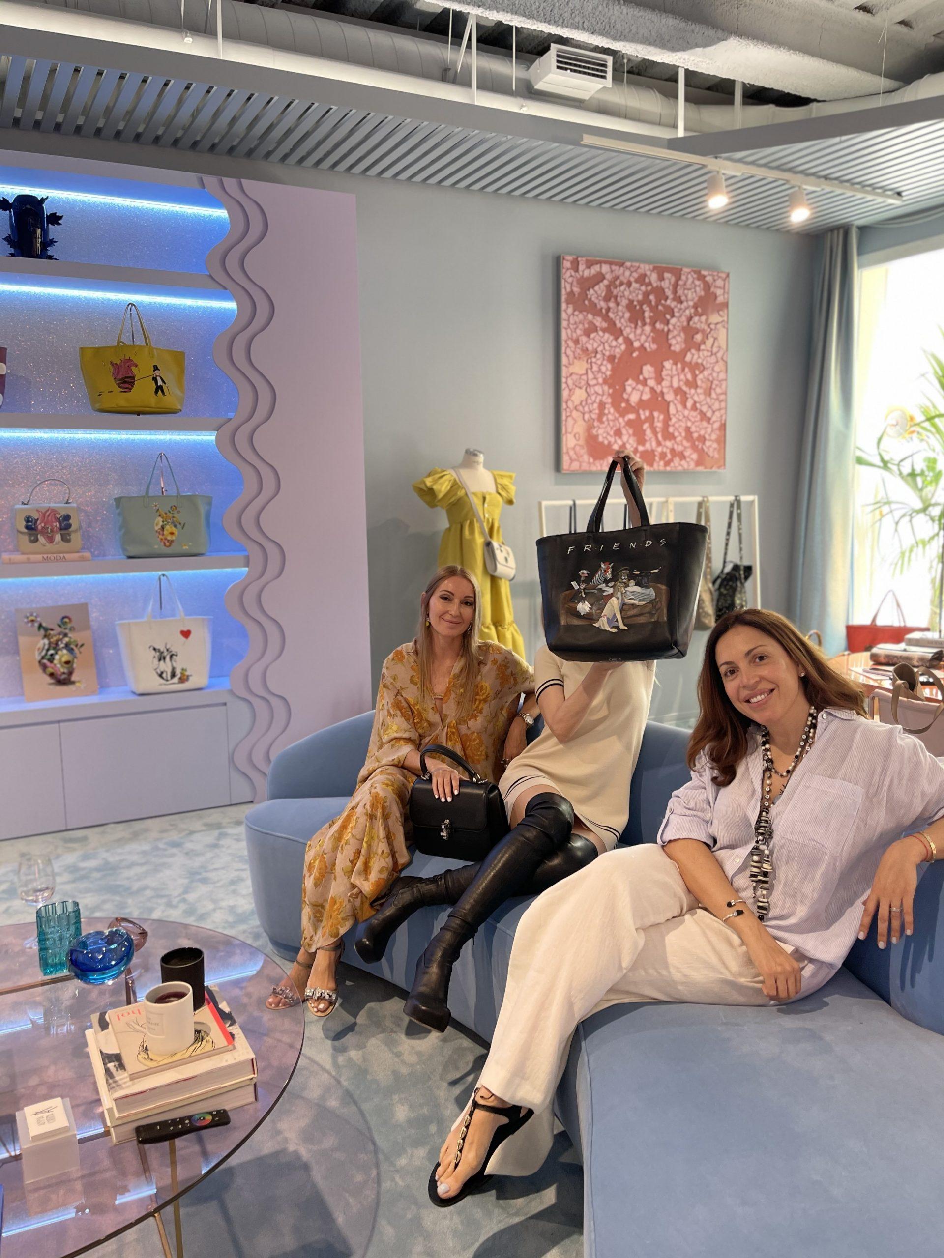 Mariona Planas, Raquel Oliva y Ana Cortina
