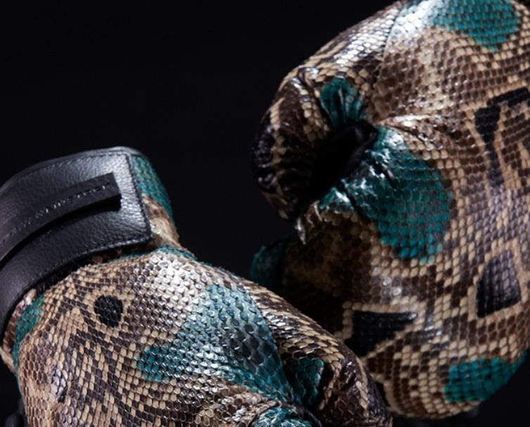 Guantes de boxeo Elisabeth Weinstock Python