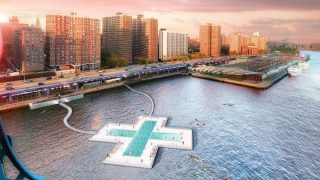 Piscina East River de Nueva York