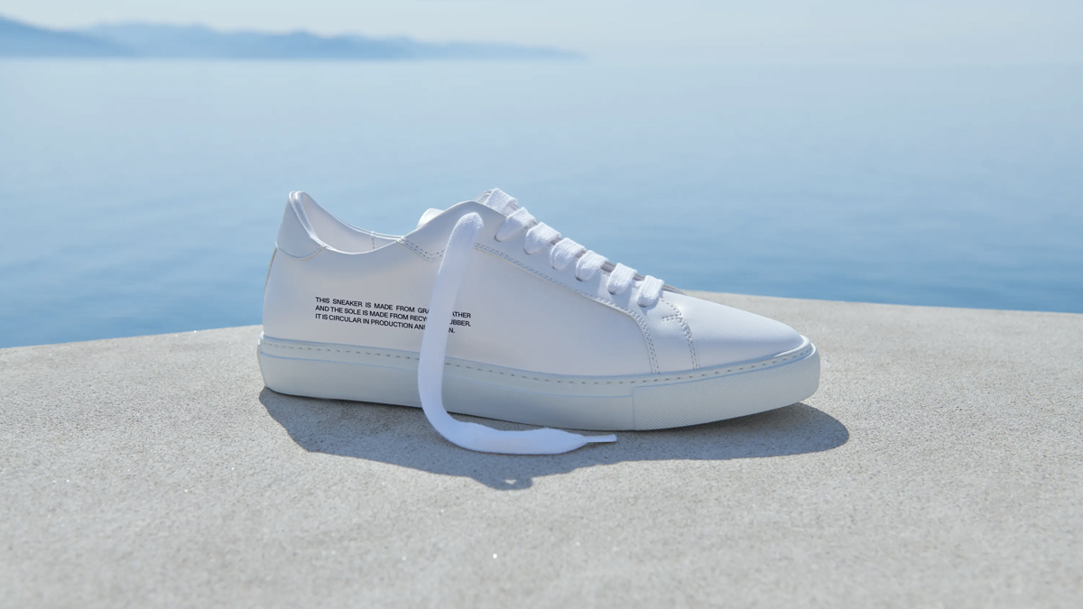 Sneakers de Pangaia. /Foto: Pangaia