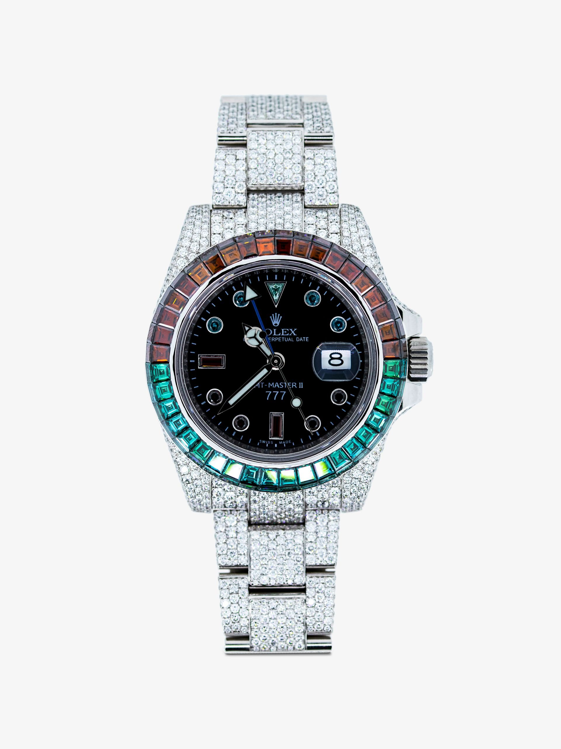 Rolex GMT Master II Iced Cold Pepsi.