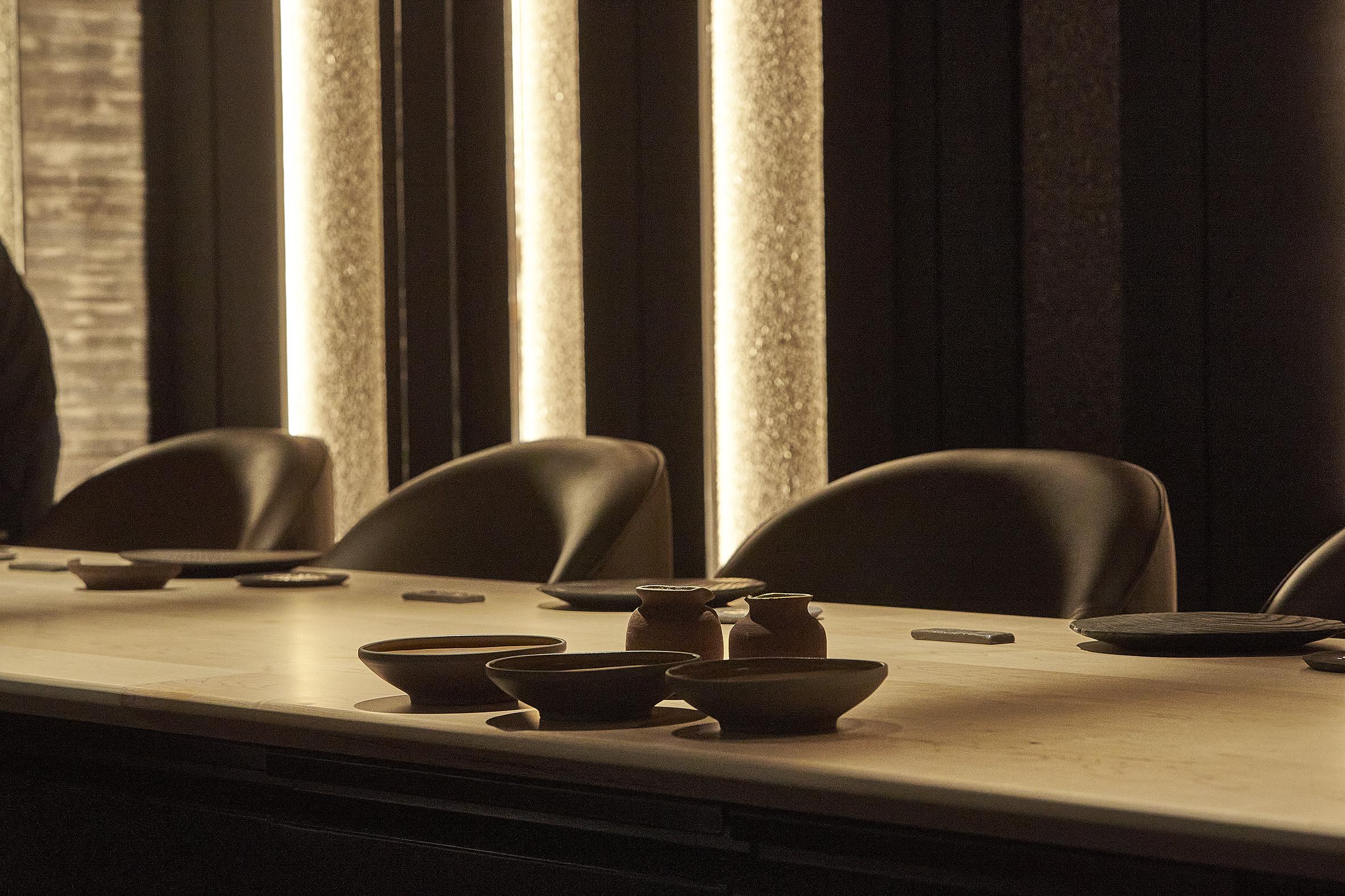 Mesa del restaurante / Foto: Smoked Room