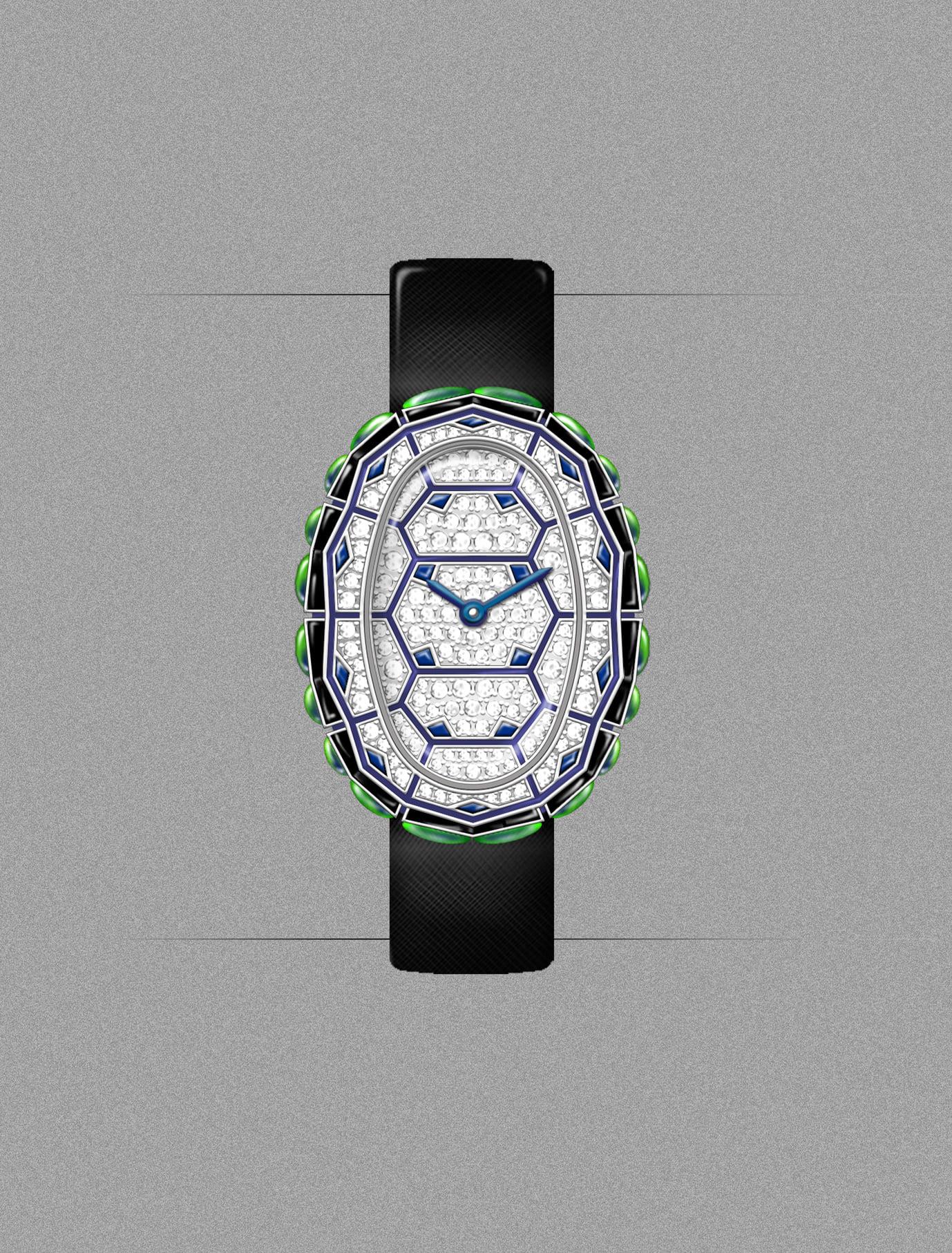 5 relojes con diamantes para mujeres sofisticadas