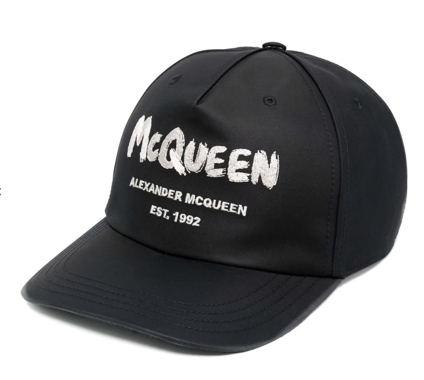 Gorra de Alexander McQueen
