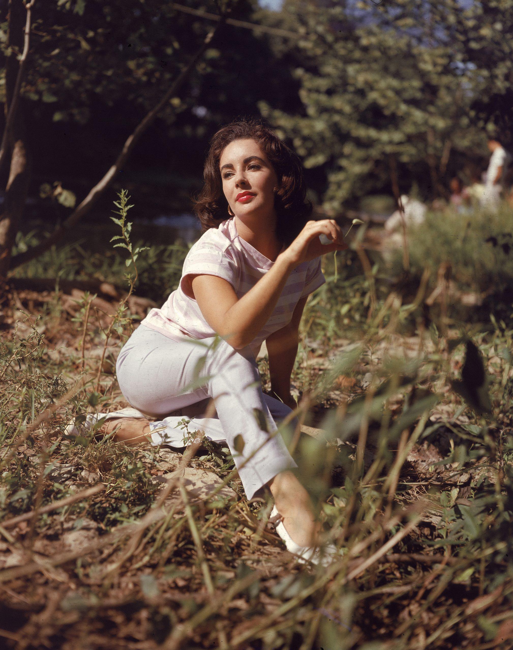 Elizabeth Taylor en 1950 / Foto: Getty Images