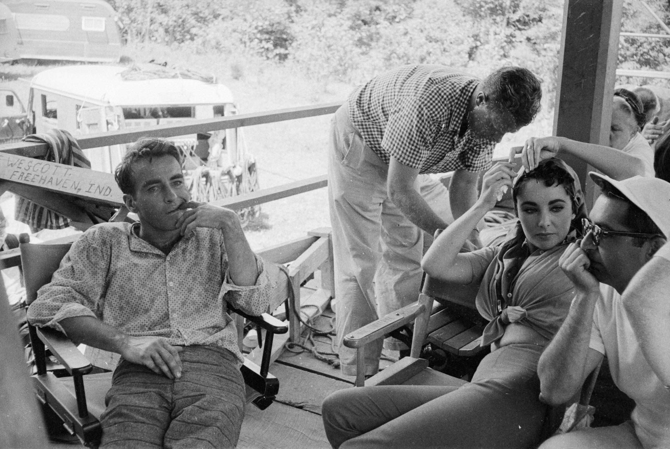 Elizabeth Taylor con Montgomery Clift en 1966 / Foto: Getty Images