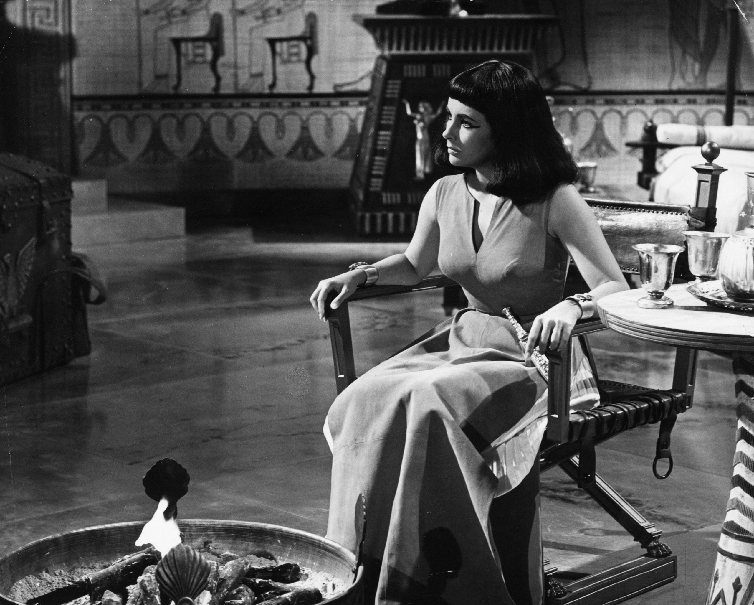 Noviembre de 1961, la actriz en Cleopatra / Foto: Getty Images