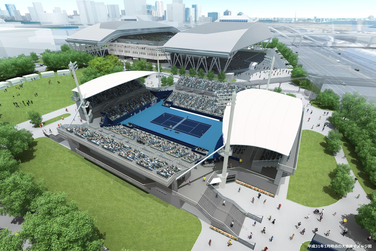 Parque de tenis Ariake