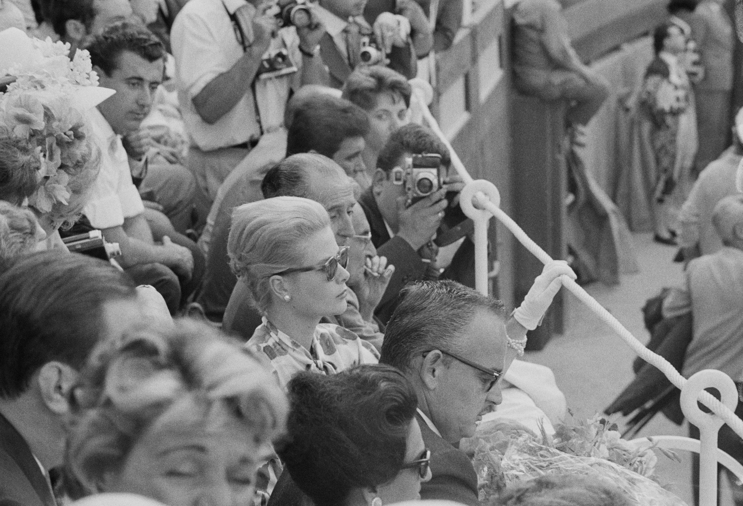 La Princesa Grace Kelly y el Príncipe Rainiero en Mallorca en 1961 / Foto: Getty Images