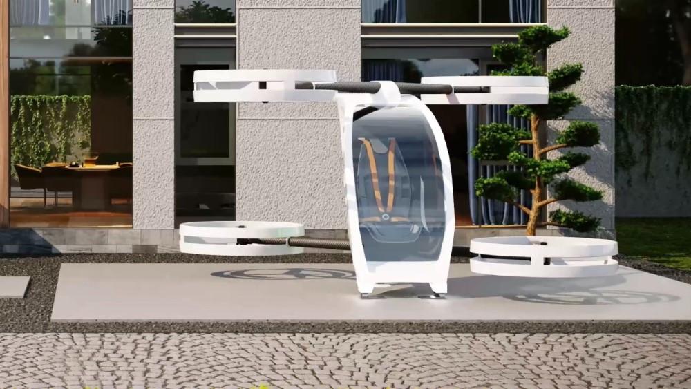 iFLY, el 'avión' que puedes aparcar en el jardín de tu casa