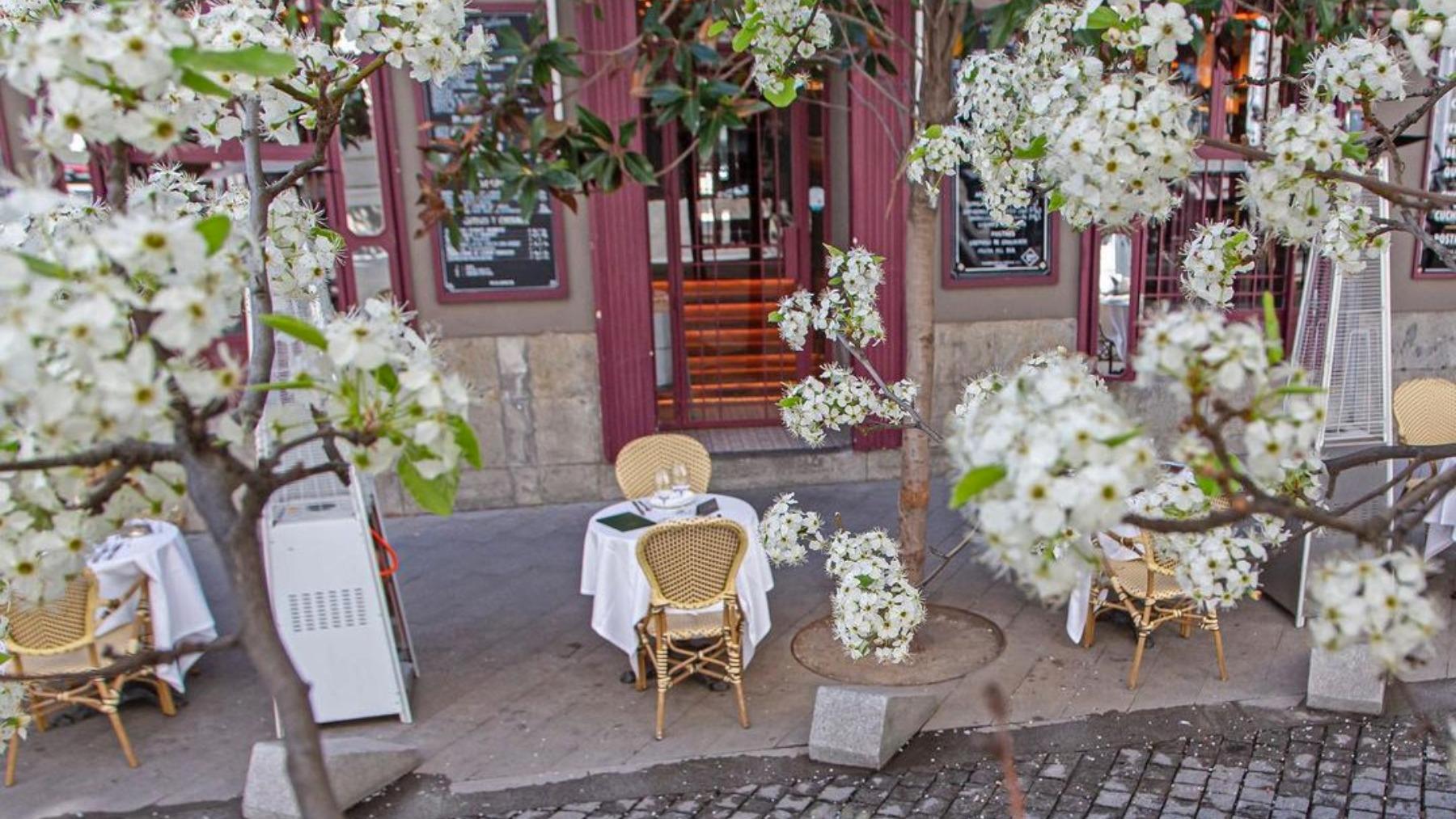Casa Orellana, la terraza más parisina de Madrid