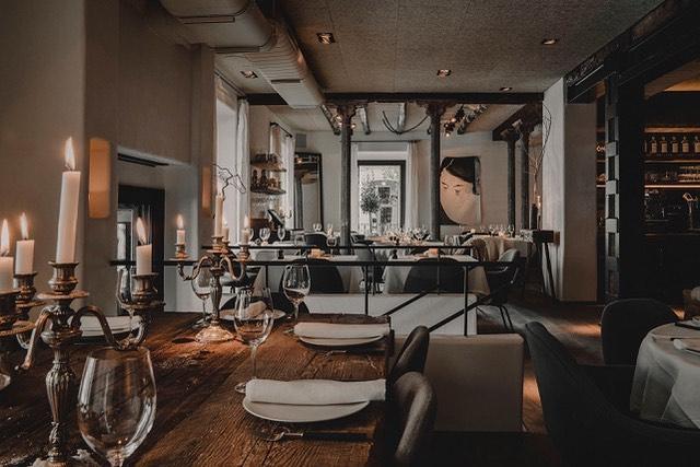 El interior del restaurante / Foto: @charrua_madrid