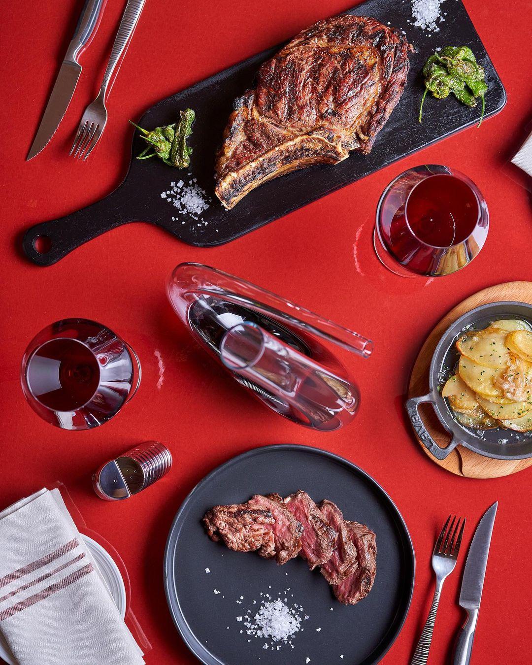 Algunos de los platos de Sessions / Foto: @hrhmadrid