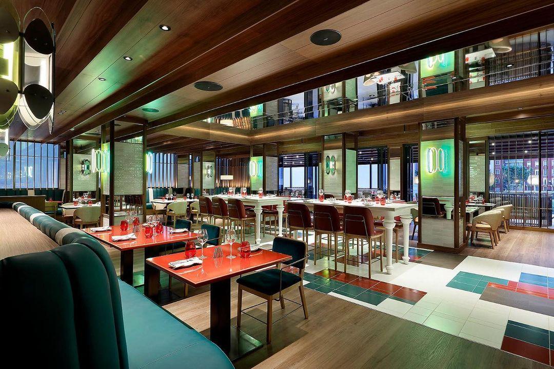 El restaurante Sessions / Foto: @hrhmadrid
