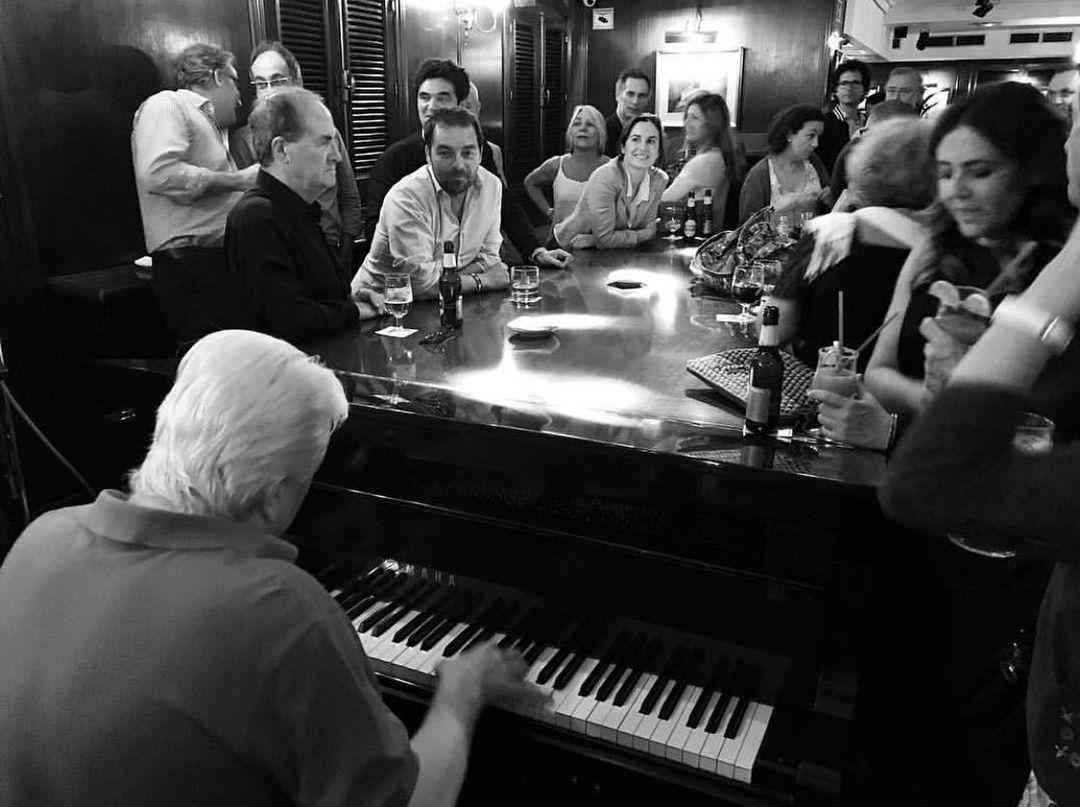 El piano del Toni 2 / Foto: @toni2piano