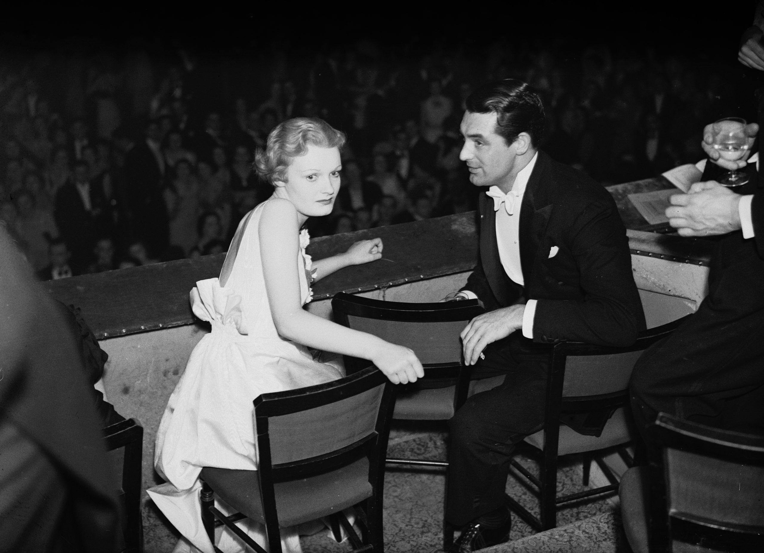 Cary Grant en 1935 en una film ball / Foto: Getty Images