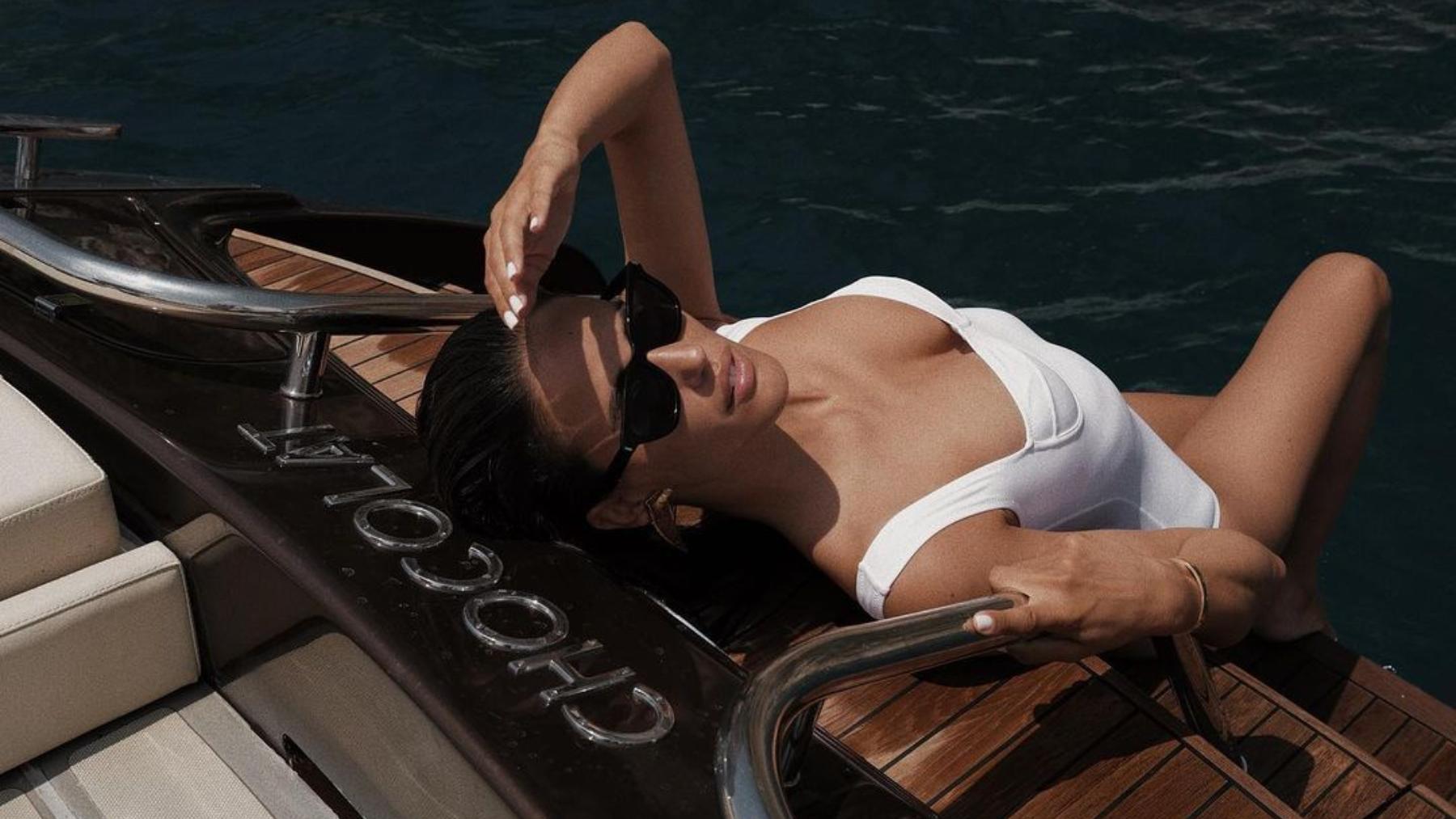 Álex Riviere encima de un barco / Foto: @ariviere