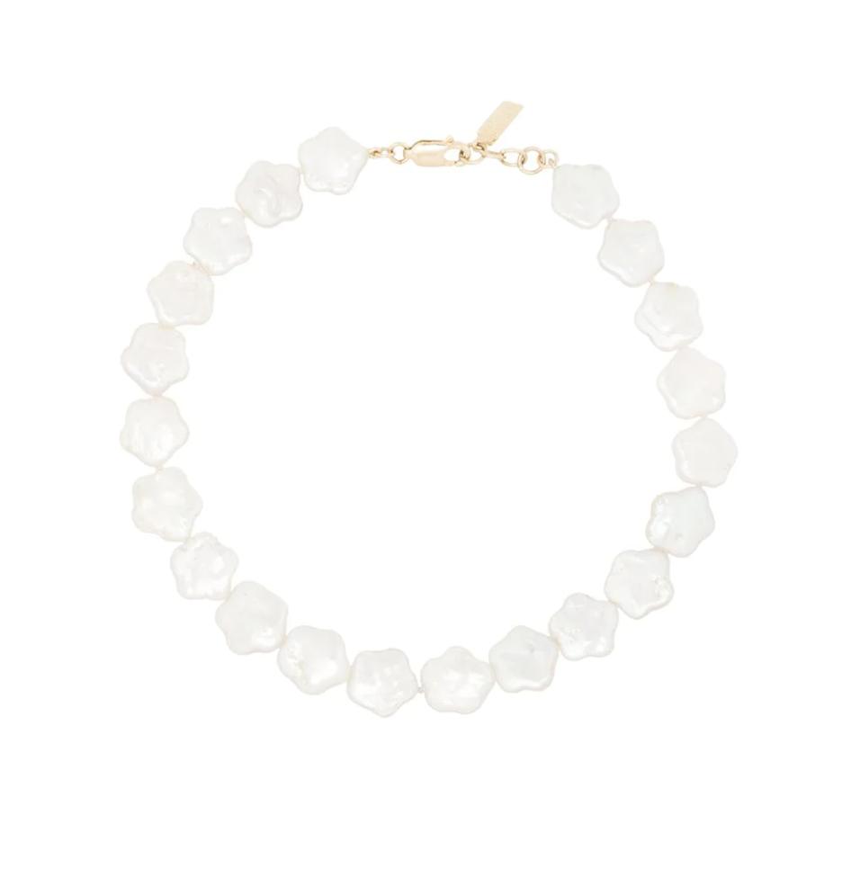 Tobillera de perlas / Foto: Farfetch