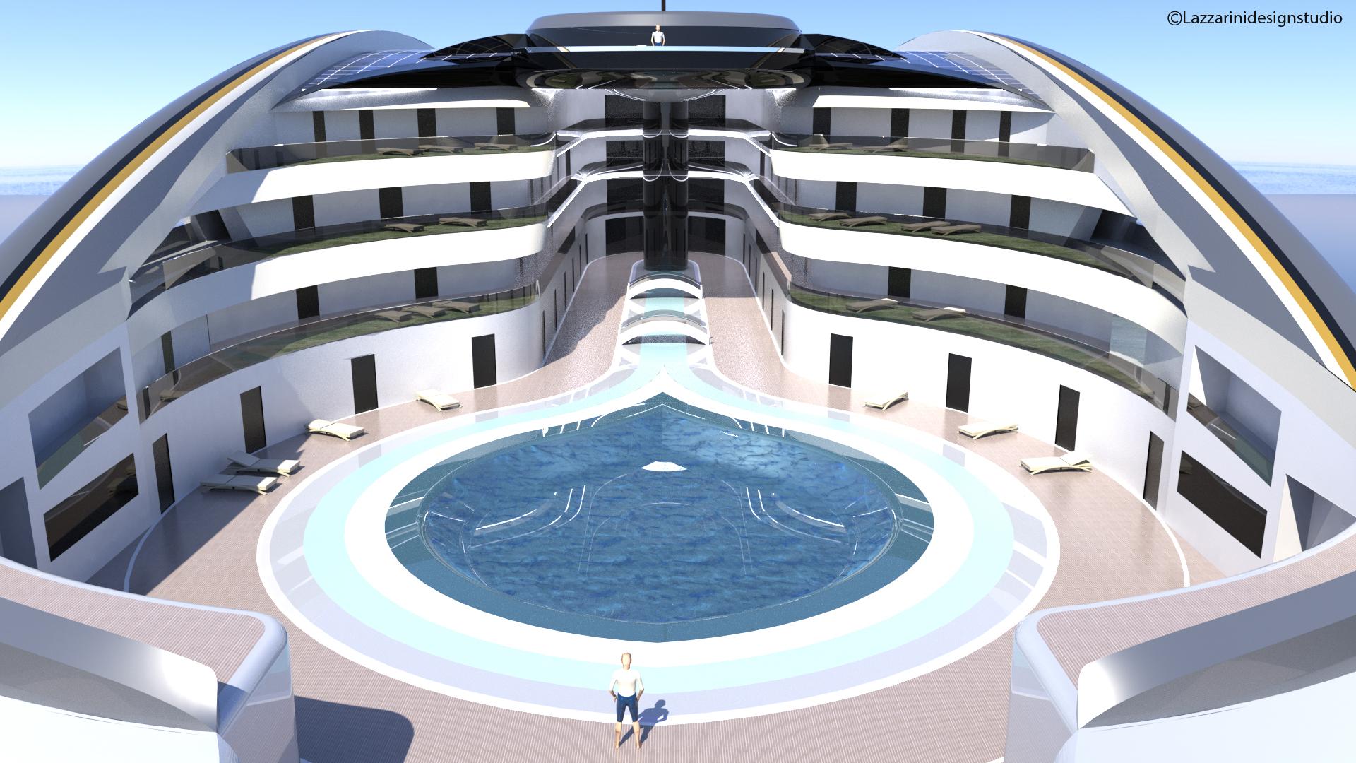 La piscina / Foto: Studio Lazzarini