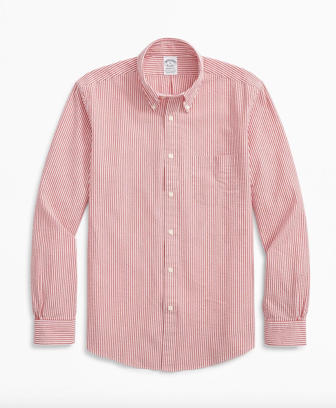Camisa de rayas / Foto: Brooks Brothers