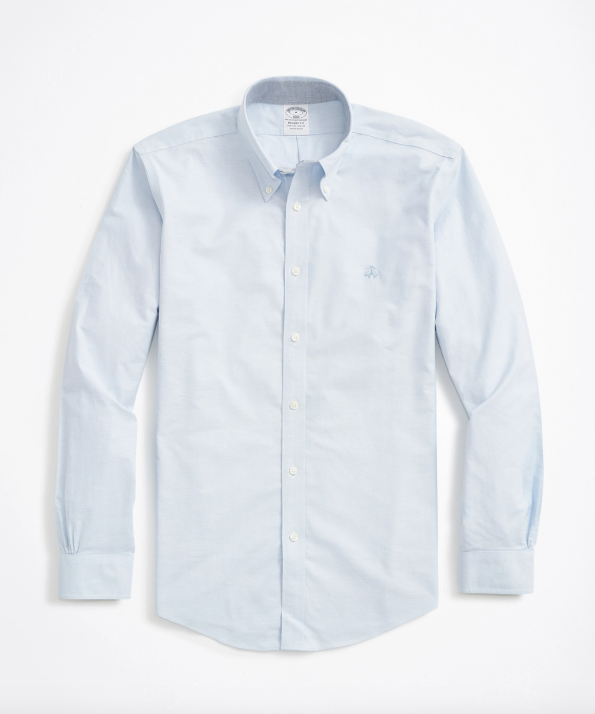 Camisa celeste de Brooks Brothers / Foto: Brooks Brothers