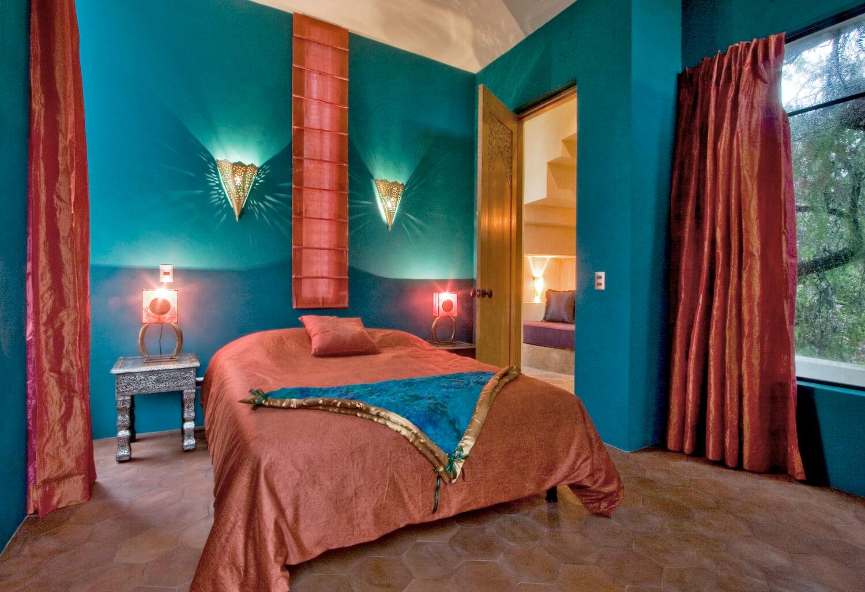 Una de las suites de la 'Casa Lluvia'