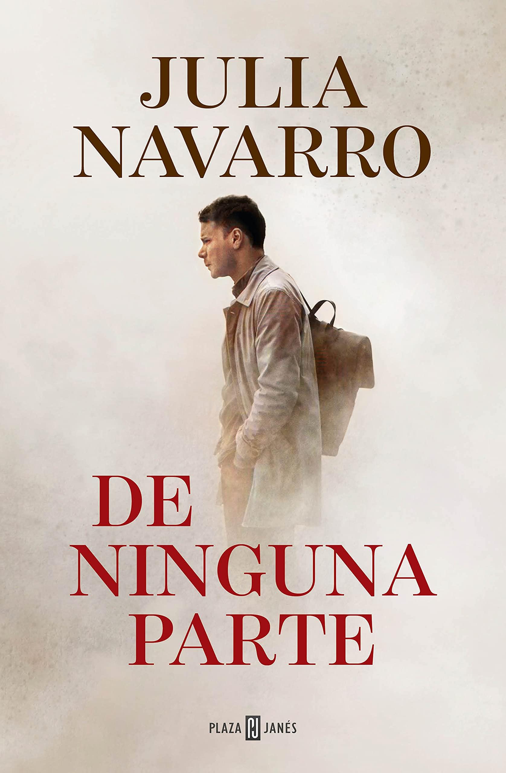 Portada de 'De ninguna parte' de Julia Navarro