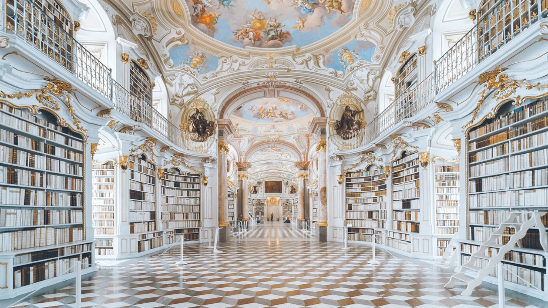Librería de palacio /Foto: Unplash