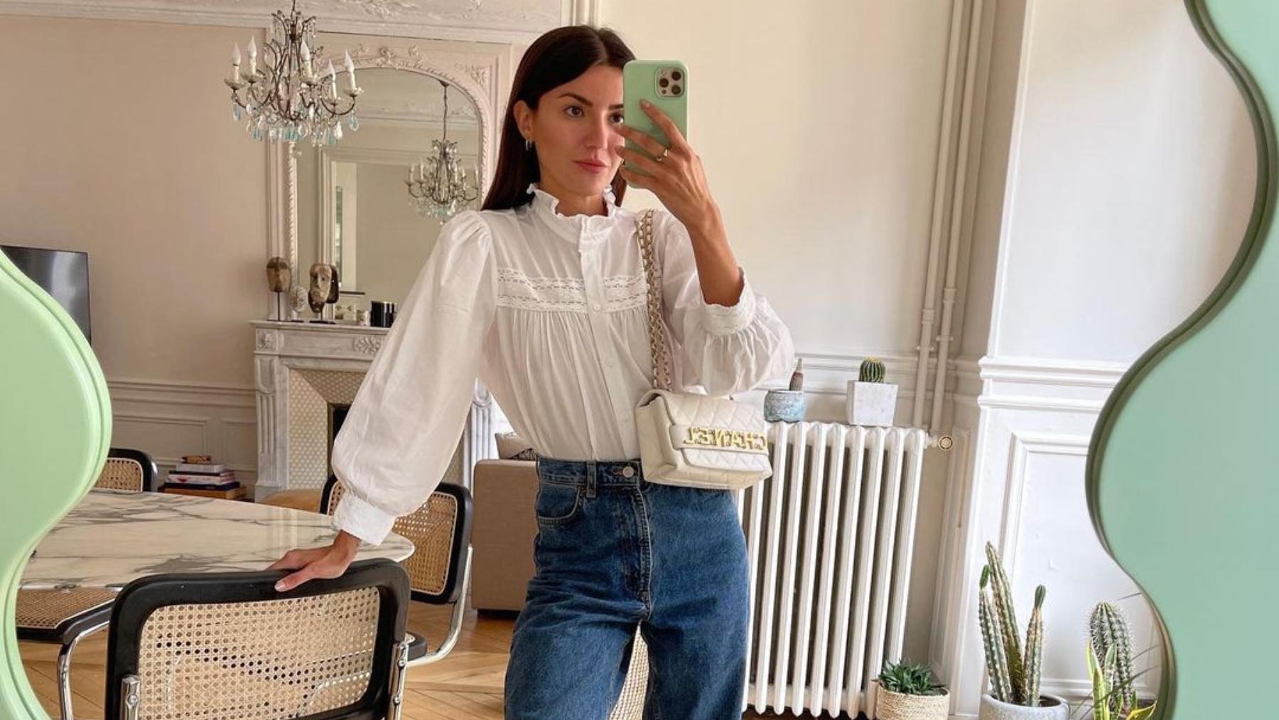 Alexandra Pereira en su casa de París / Foto: @alexandrapereira