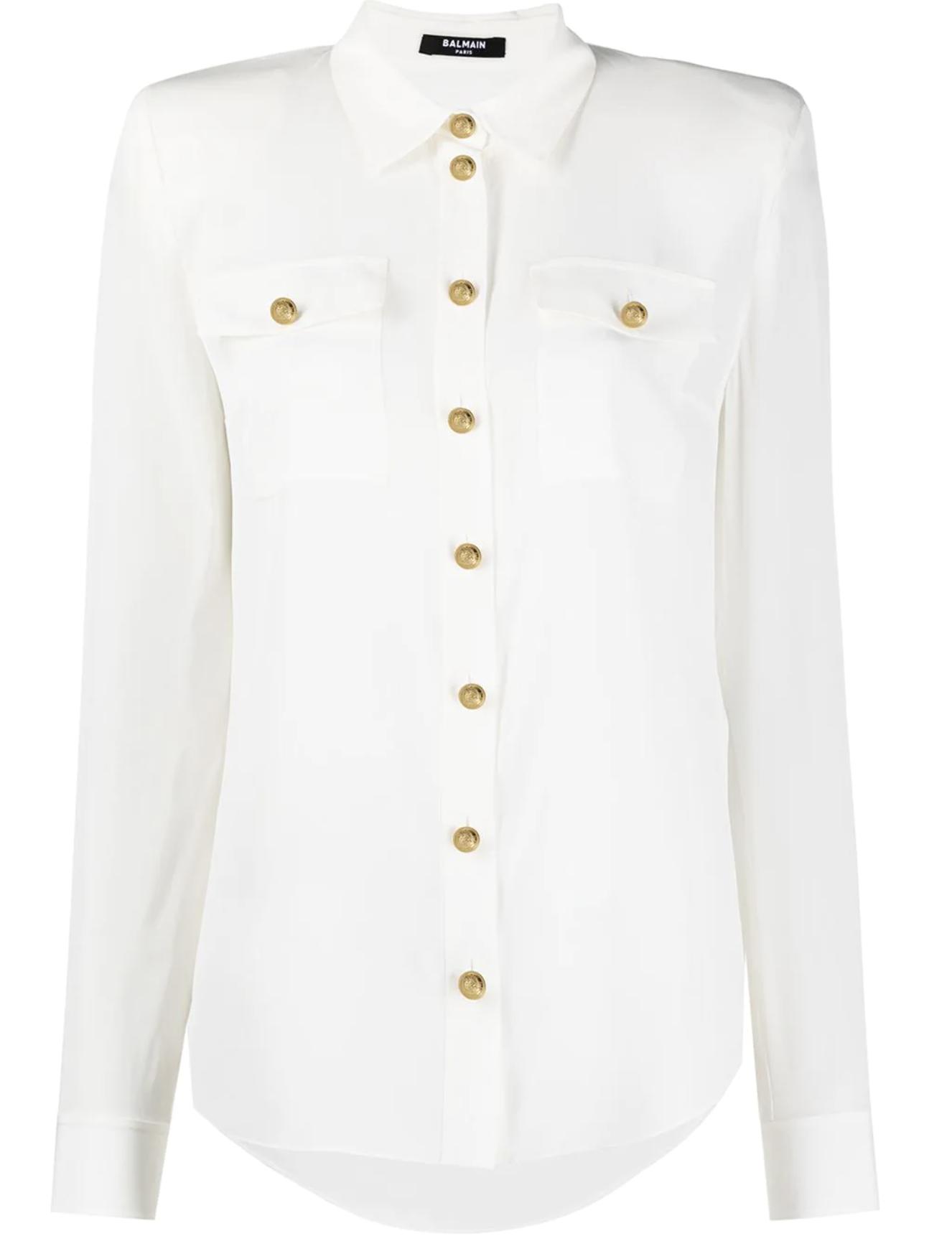 Camisa blanca de Balmain