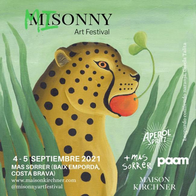 Cartel del 'Misonny Art Festival'