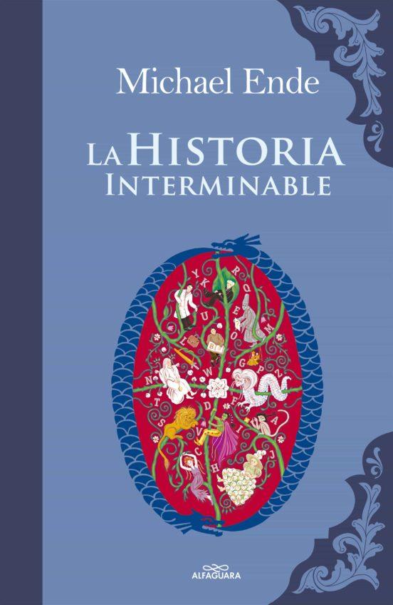Portada de La Historia Interminable./Foto: Alfaguara