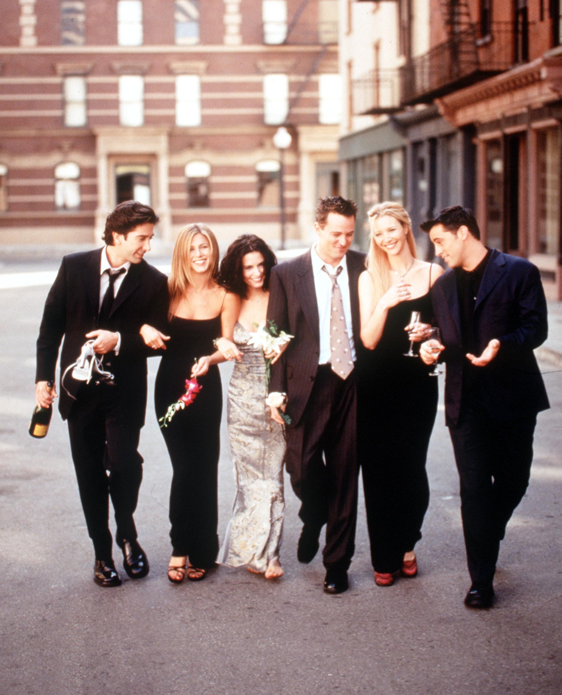El elenco de 'Friends' 1999-2000/Foto: Getty Images