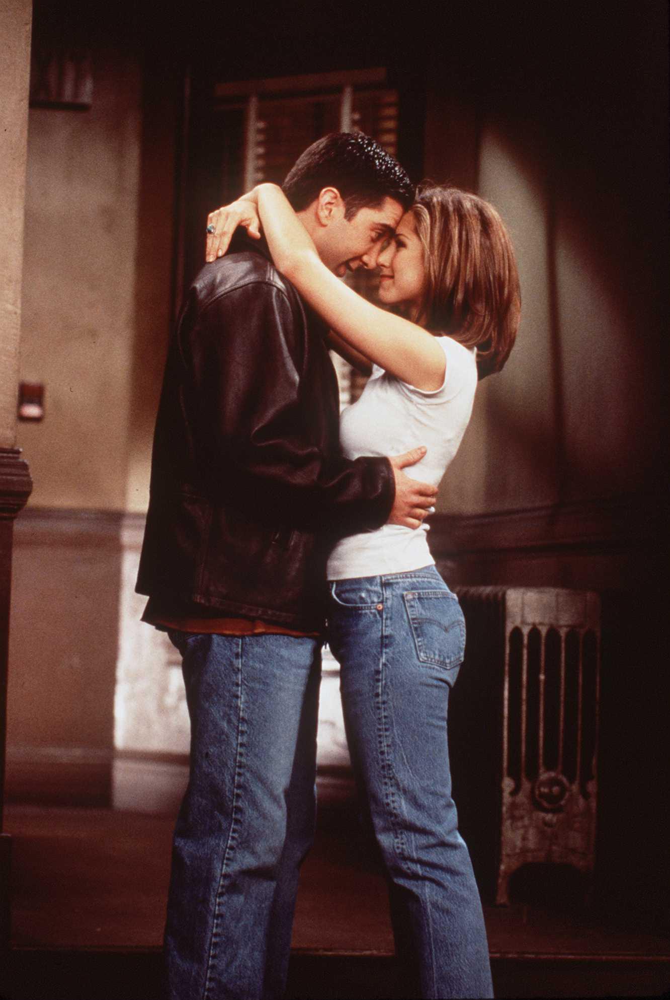 Los personajes de Ross y Rachel de Friends/Foto: Getty