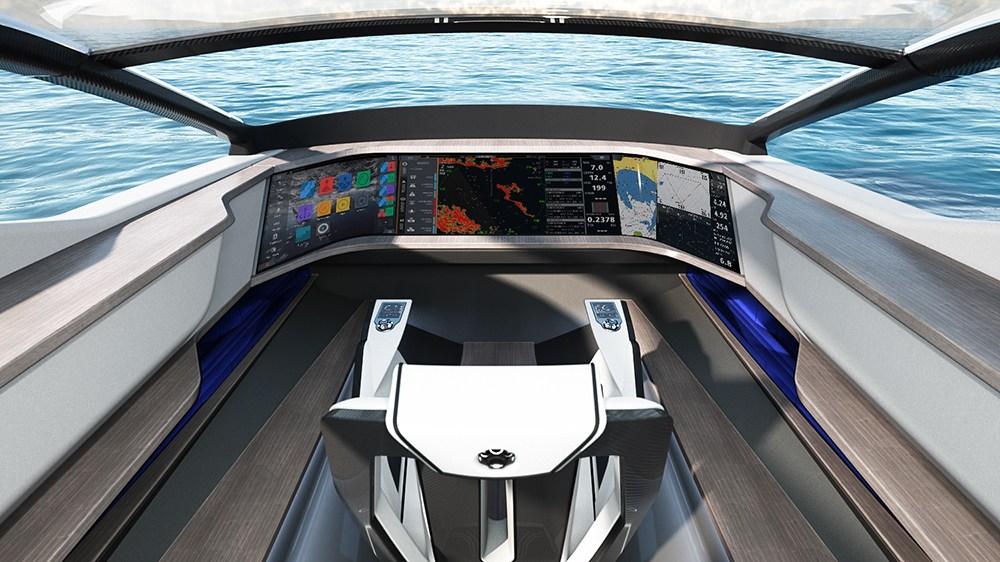 Future-E sobre el agua