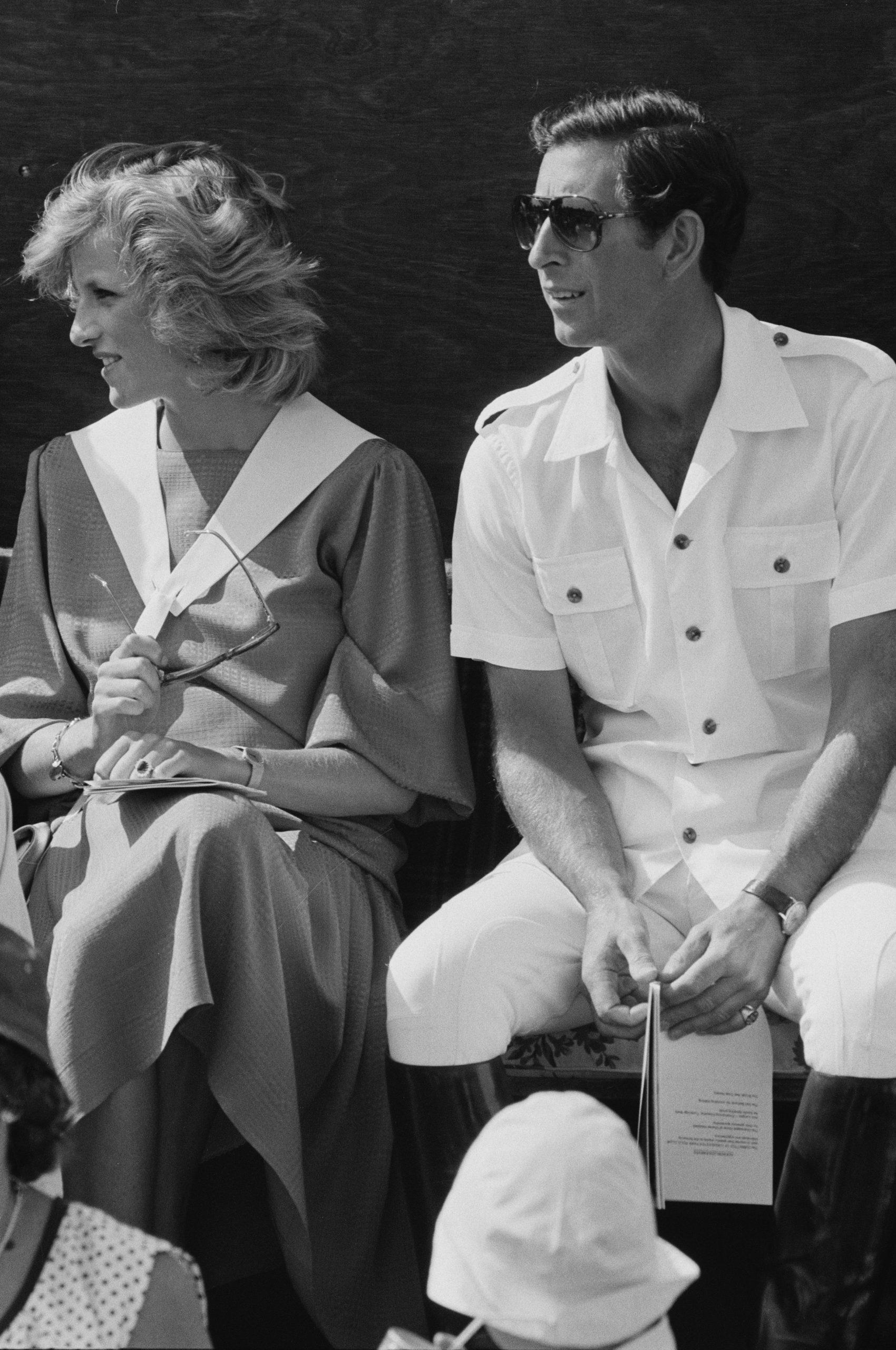 El Princípe Carlos y la Princesa Diana en el Cirencester Polo Club / Foto: Getty images