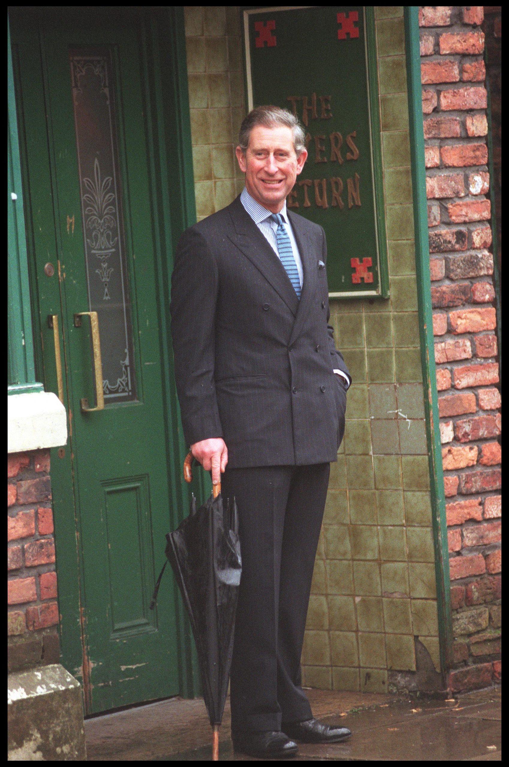 El Príncipe Carlos en el año 2000 en Manchester / Foto: Getty Images