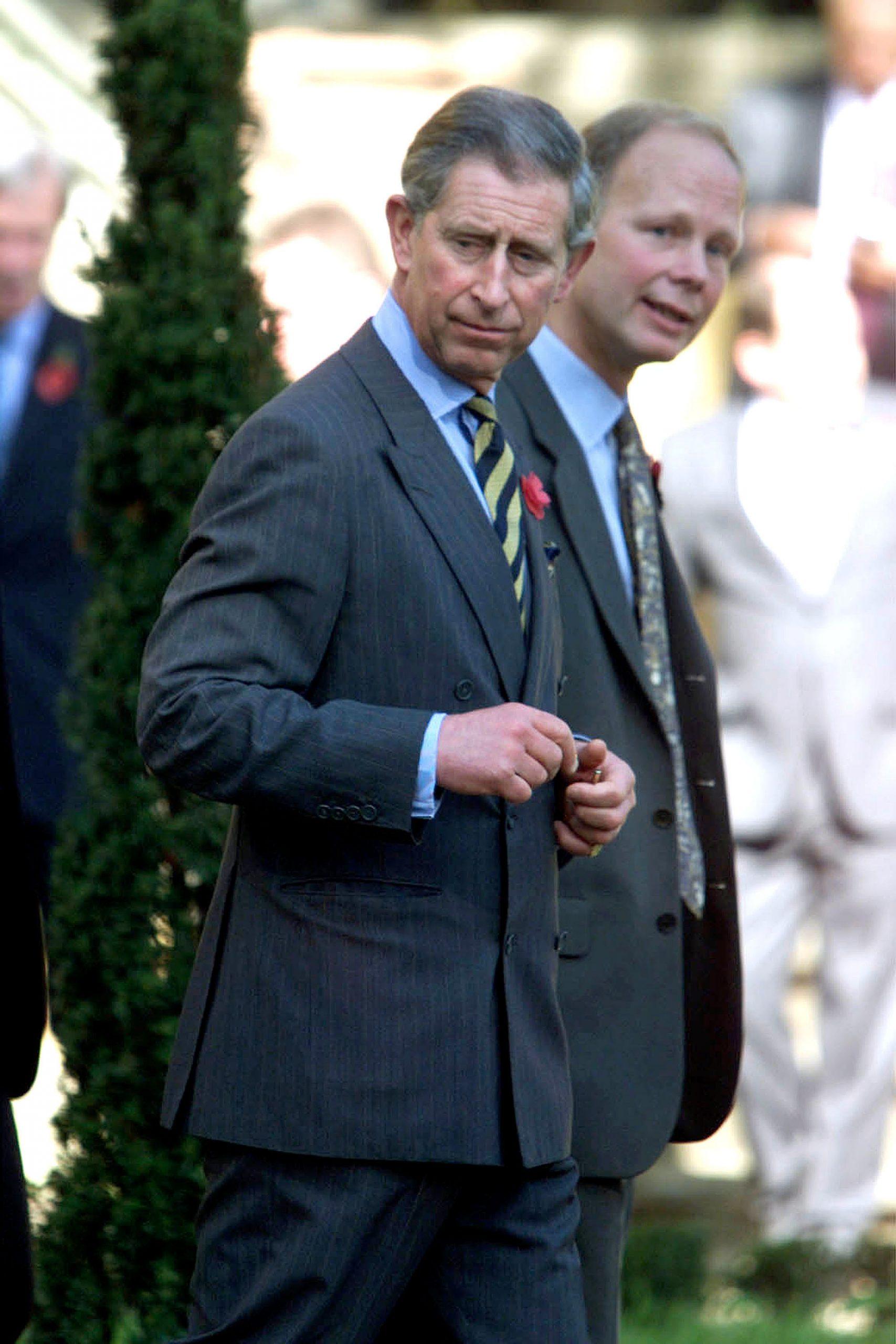 El Príncipe Carlos cerca de Florencia, en 2002 / Foto: Getty Images
