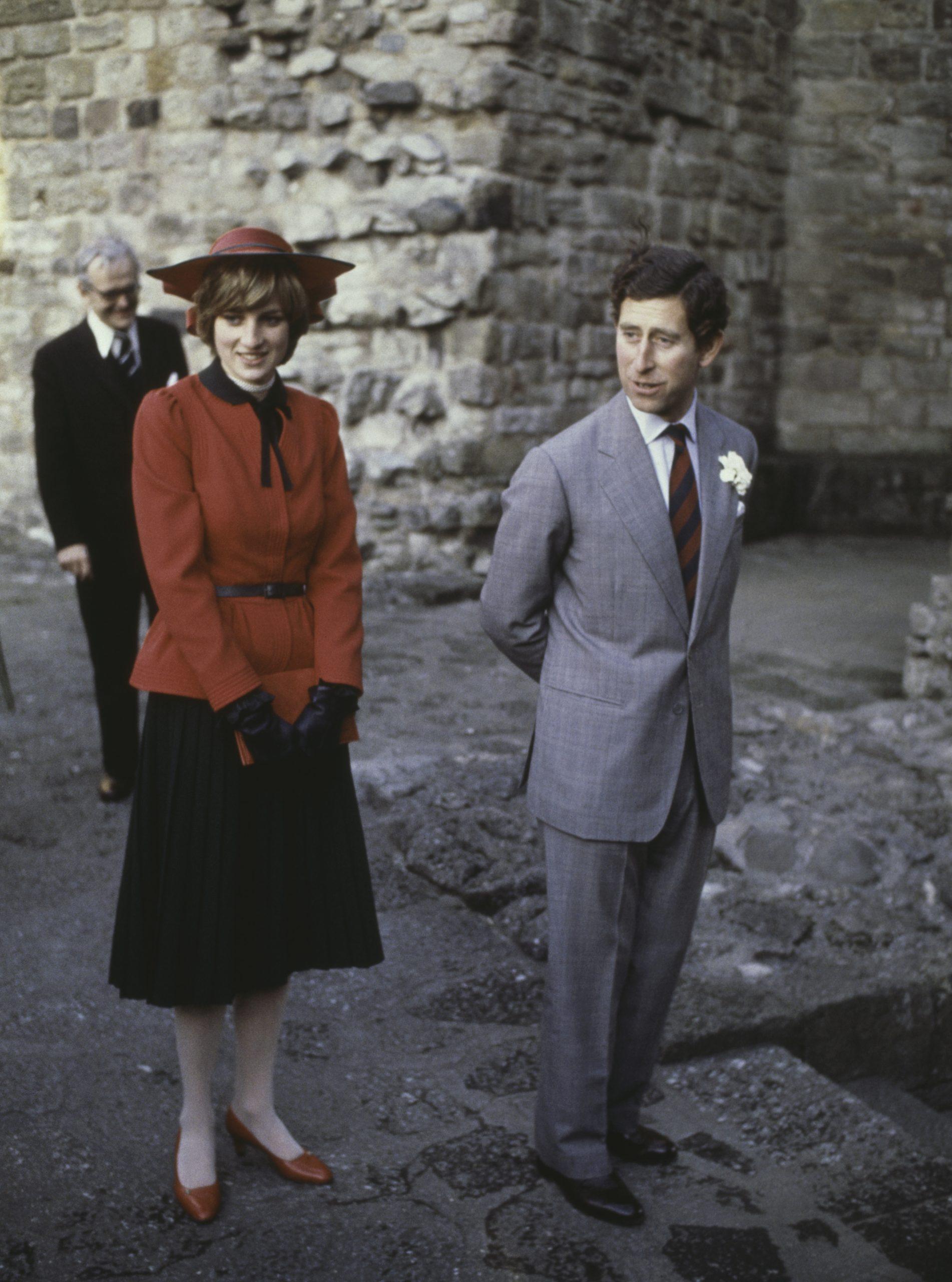 El Príncipe Carlos con la Princesa Diana en 1981 / Foto: Getty Images
