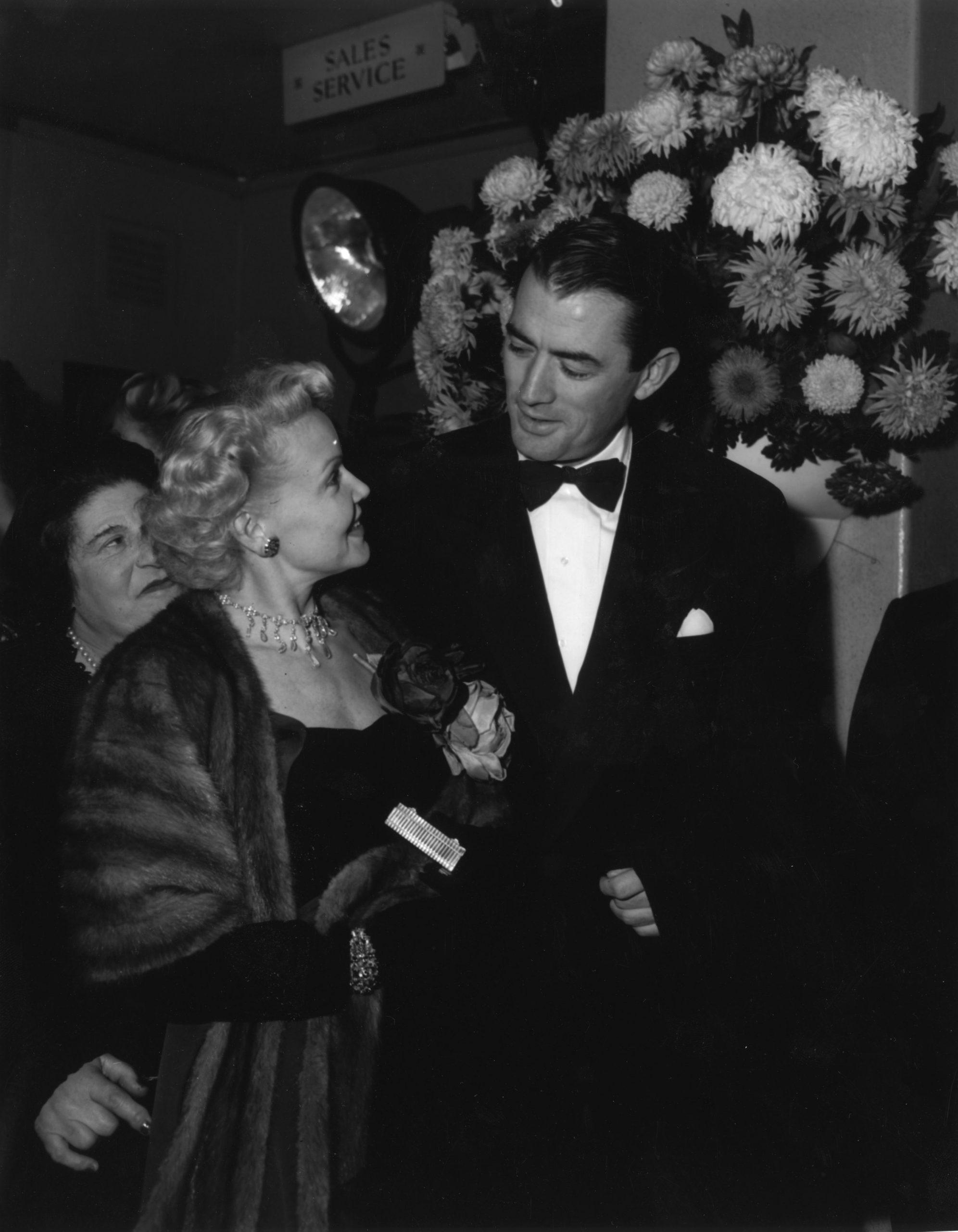 Gregory Peck y su primera mujer Greta Rice con 1951 / Foto: Getty Images