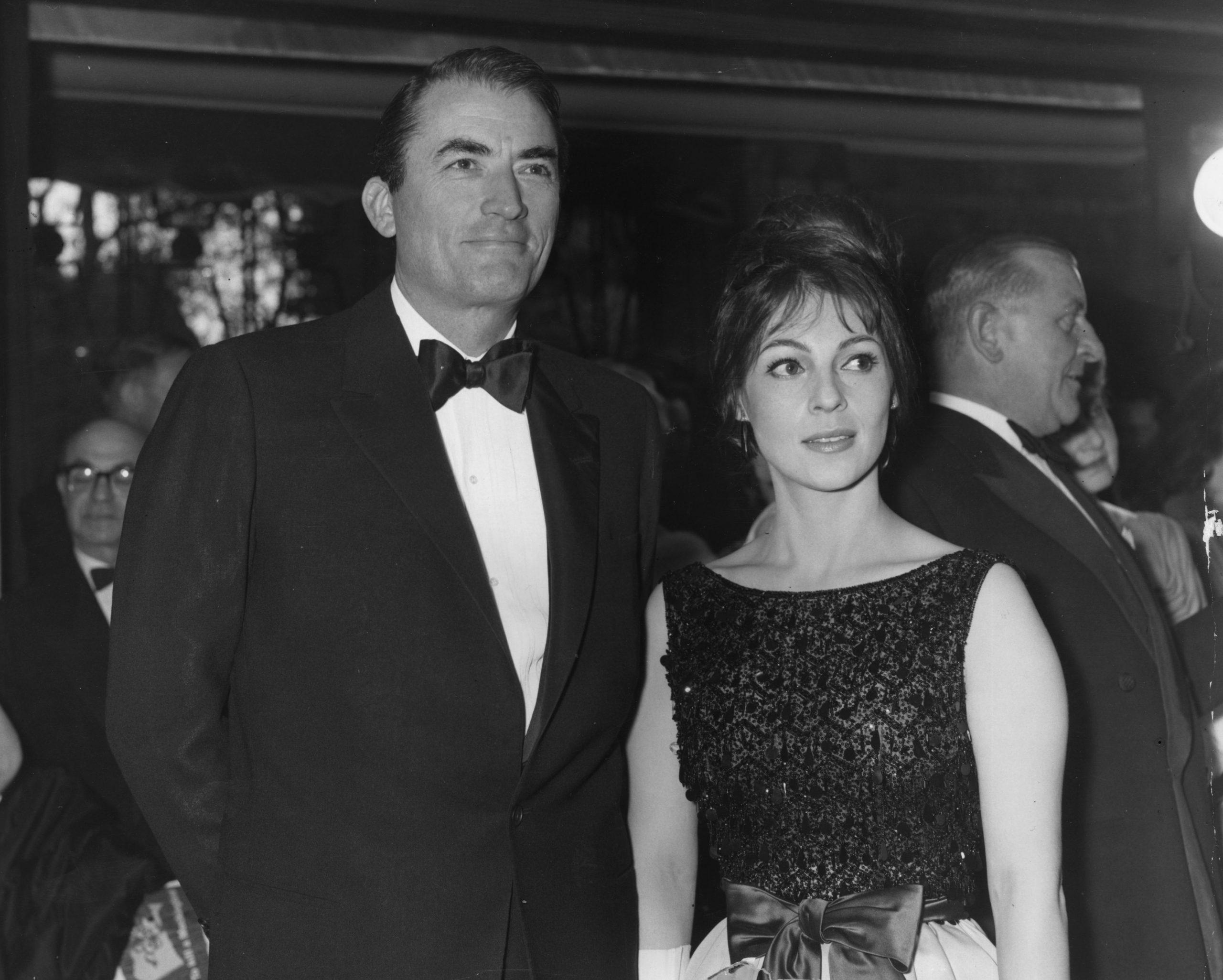 Gregory Peck con su mujer Veronique en 1963 / Foto: Getty Images