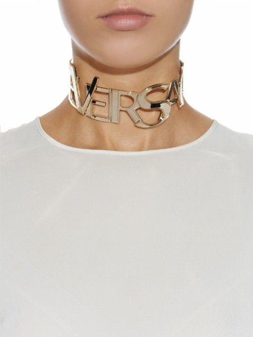 Choker Versace