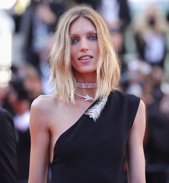 Anja Rubik en el Festival de Cannes