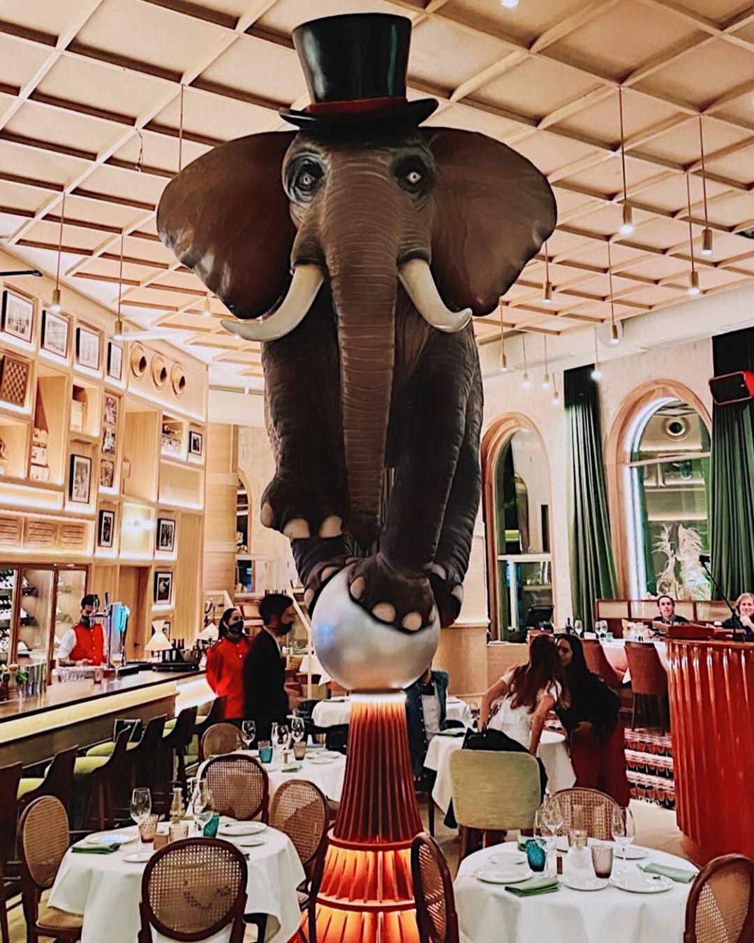 El elefante / Foto: @fanatico.madrid