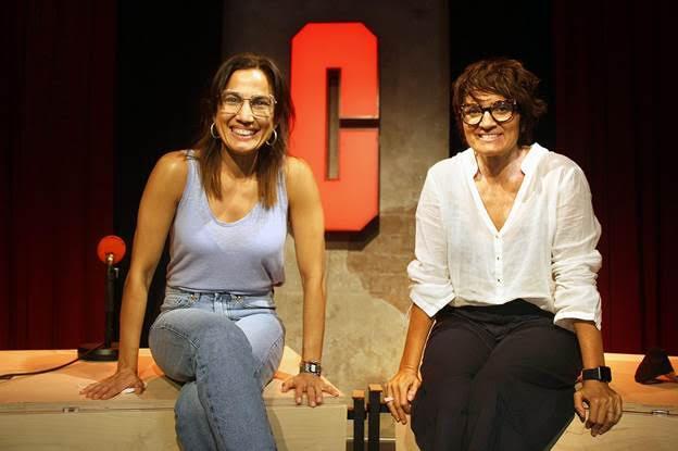 Silvia Abril y Toni Acosta. /Foto: El Terrat