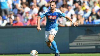 Fabián Ruiz, en un partido con el Nápoles. (Getty)