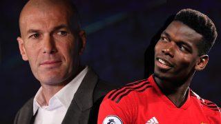 Zidane y Pogba.