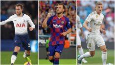 Eriksen, Rakitic y Kroos, objetivos del United