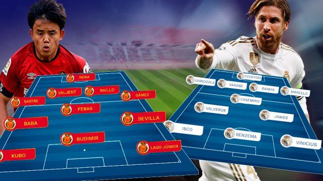 Mallorca – Real Madrid: examen en la fortaleza de Son Moix